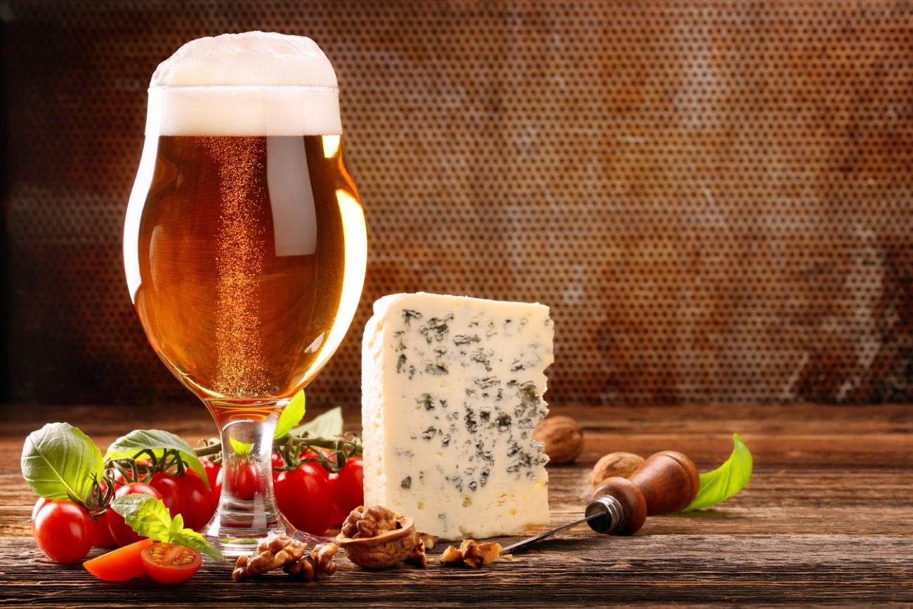 Verkostung Food Pairing Bier und Käse