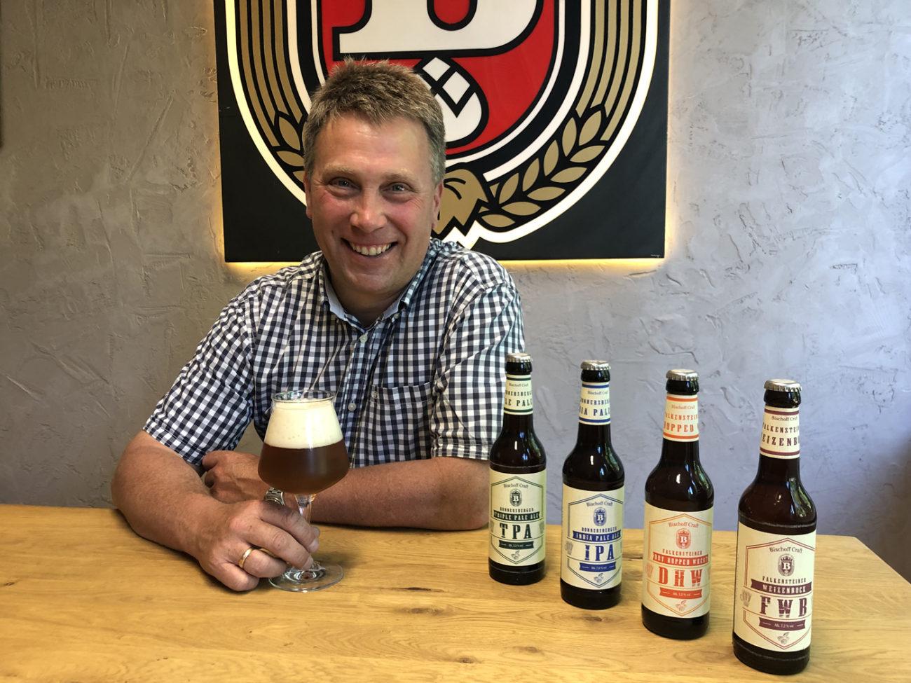 Geschäftsführer der Brauerei Bischoff Sven Bischoff